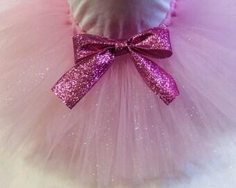 Pink tutu, glitter tutu, pink glitter tutu, newborn tutu, baby tutu, pink baby tutu, glam tutu, chic tutu, chic baby, fairy tutu, fairy
