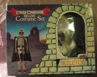 Vintage Creepy Creatures Costume Set