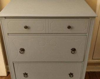 Petite Antique Dresser