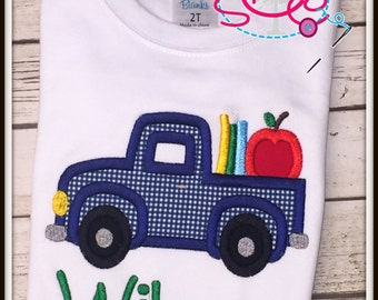 Personalized School Truck Shirt