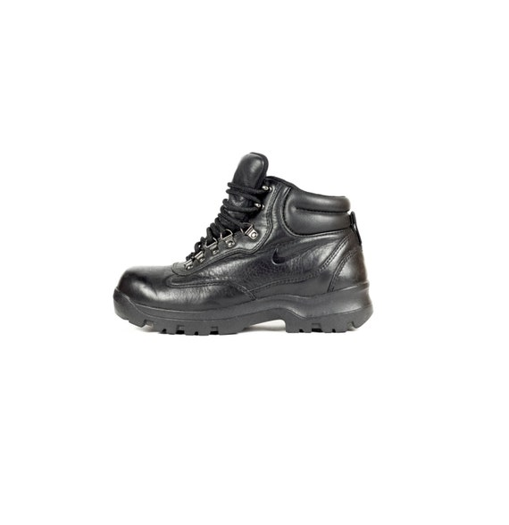 nike acg boots mens size us 8 865038 all black swoosh