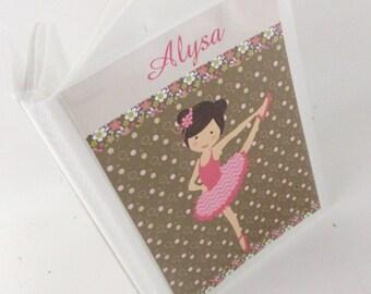 Girl Photo Album, Ballerina Picture Album, Recital Personalized Photo Album, 4x6 photo album 5x7 , dancing ballet dance team, photo book 505