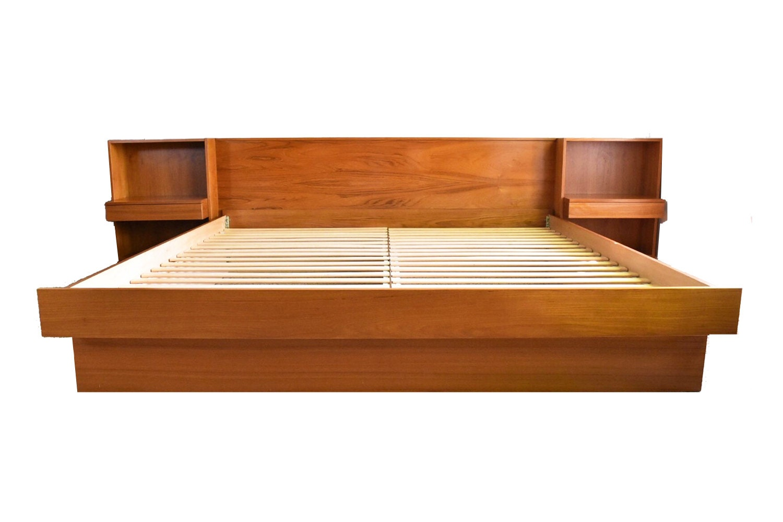 Teak King Platform Bed