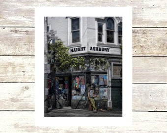 PEACE AND LOVE - San Francisco - Haight Ashbury - Fine Art Photograph - Limited Edition of  250