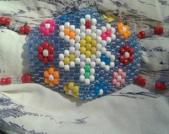 EDC flower Kandi Mask