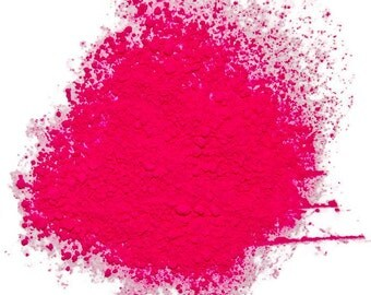 Neon Magenta Fluorescent Pigment Powder for Paints, Nail Art, Soap Making, Candle Making and other Craft Projects