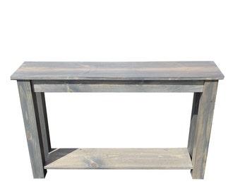 Cape Cod Entry Table / Sofa Table / Foyer table/Media Table