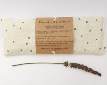 Lavender eye pillow / yoga / meditation / relaxation /