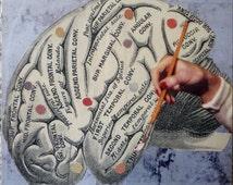 BOGO SALE- original collage art on art panel