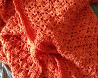 Cozy Orange Blanket