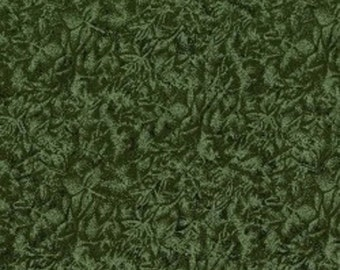 Aspen Green Fairy Frost Fabric
