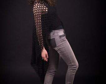 crochet summer vest