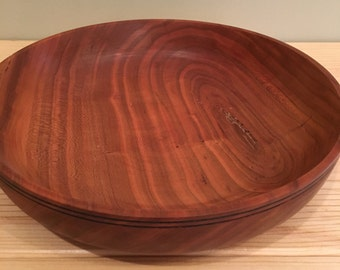 Wood Turned  Cherry Wood Bowl