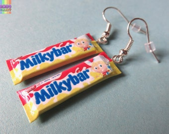 Milky Bar Earrings