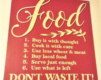 Food - Don't Waste It