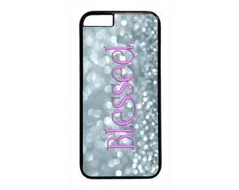 Christian Blessed Quote Saying Case Cover for iPhone 4 4s 5 5s  5C 6 6s 6 Plus 7 7 Plus iPod Touch 4 5 6 case Cover