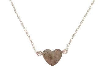 Petite Heart Cremation Pendant