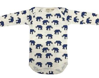 Elephant Long Sleeve Bodysuit
