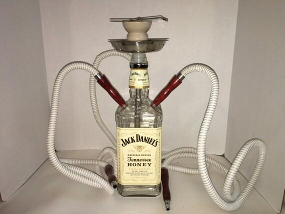 jack daniels honey hookah 3 hose. Black Bedroom Furniture Sets. Home Design Ideas