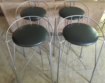 4 Vecta Steelcase Modern Bar Stools/Chairs