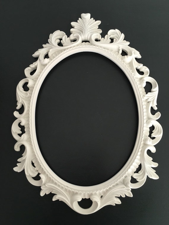 Baroque Style Picture Frame Shabby Chic Frame Oval
