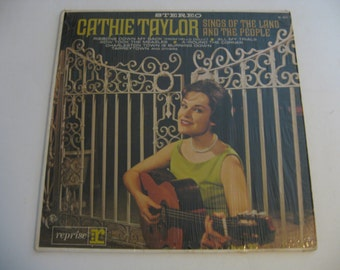 Cathie Taylor - Sings Of The Land And the People - 1965
