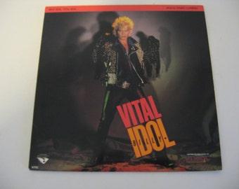 Billy Idol - Vital Idol - Laserdisc - Circa 1986