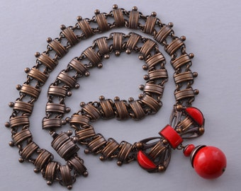 Art Deco Necklace (245t)