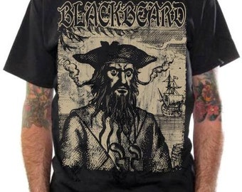Blackbeard Edward Teach T-Shirt
