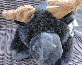 Personalized moose Pillow Pet Pee Wee with name - perfect for Easter, Birthday gifts or Valentine's day