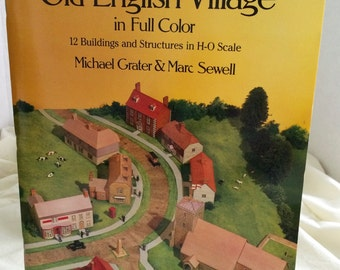 Cut & Assemble an OLD ENGLISH VILLAGE