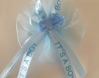12 Baby Shower Corsage // Elegant Baby Shower // Baby Shower Favors //