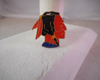 Vintage Native American Indian Hat Pin