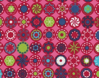 Sparklike Symbols - Pink - Euro Cotton Poplin