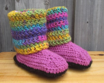 Child Bulky Slippers - Size 11-12