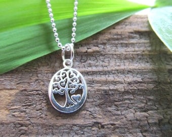 """Sterling Silver """"Tree of Life"""" Pendant"""
