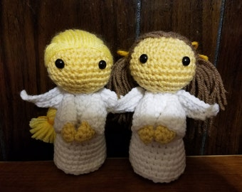 Angel crochet pattern