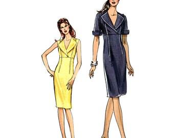 Vogue V8178 Sewing Pattern Misses' / Misses' Petite Dress  Size:  14-16-18-20  Uncut