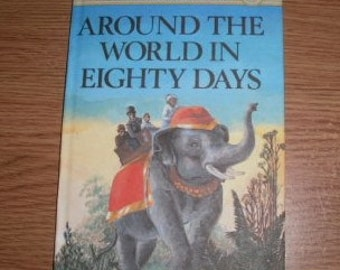 Vintage Ladybird Children's Classics Around The World In Eighty Days Series 740