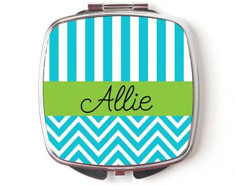 Personalized Compact Mirror - Custom Compact Mirror - Personalized Gift - Makeup Mirror - Pocket Mirror
