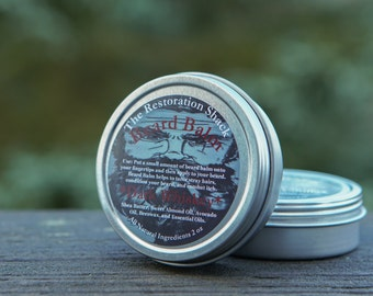 The Restoration Shacks Dark Whiskey Beard Balm