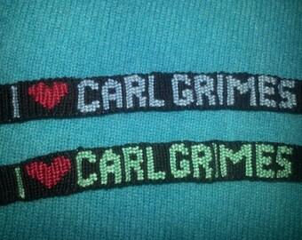 I love Carl Grimes bracelet