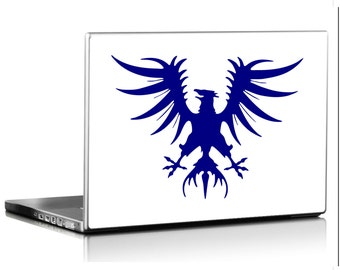 Medieval Eagle Vinyl Decal (sticker) several sizes Heraldic Crest Roman Standard-wall decal room décor laptop tablet skin car graphics AA01