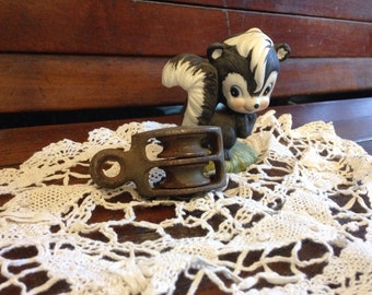 Industrial Small Double Metal Pulley Steampunk