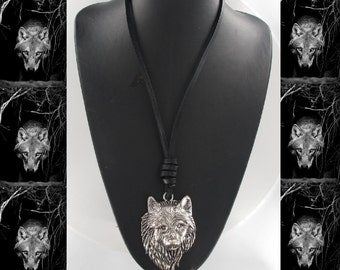 Wolf Necklace or Wolf Choker