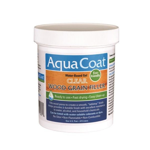 Aqua Coat Clear Wood Grain Filler From Westmifinishes On