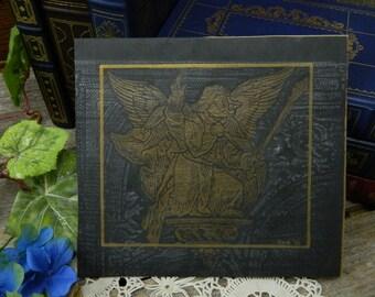 Vintage Angel Grave Rubbing - London Brass Rubbing Centre
