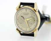 10 karat gold filled LeCoultre futurematic wristwatch
