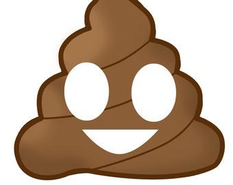 Emoji Poop Photo Booth Prop