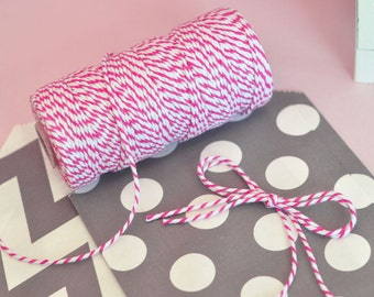 Baker's Twine-Packaging Twine-Party Supplies-Gift Wrapping-12 ply-100 yards per roll